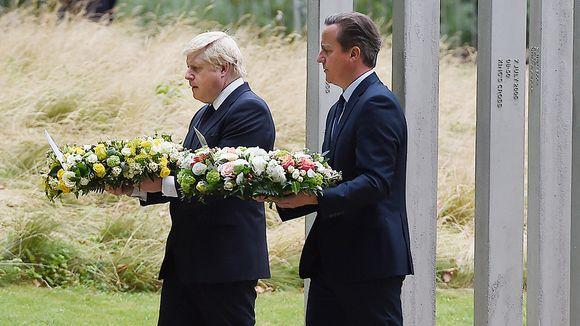 Boris Johnson ja David Cameron.
