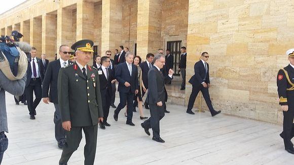 Presidentti Sauli Niinistö esitti surunvalittelunsa Turkin kansalle terrori-iskun johdosta.
