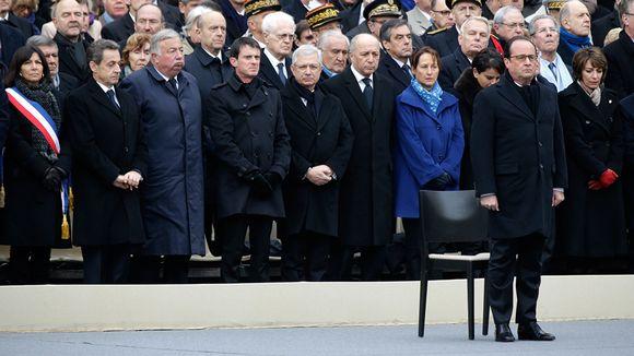 Pariisin muistojuhla.