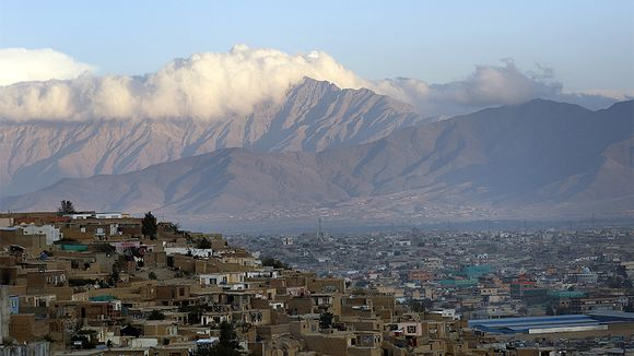 Overview of Kabul landscape.