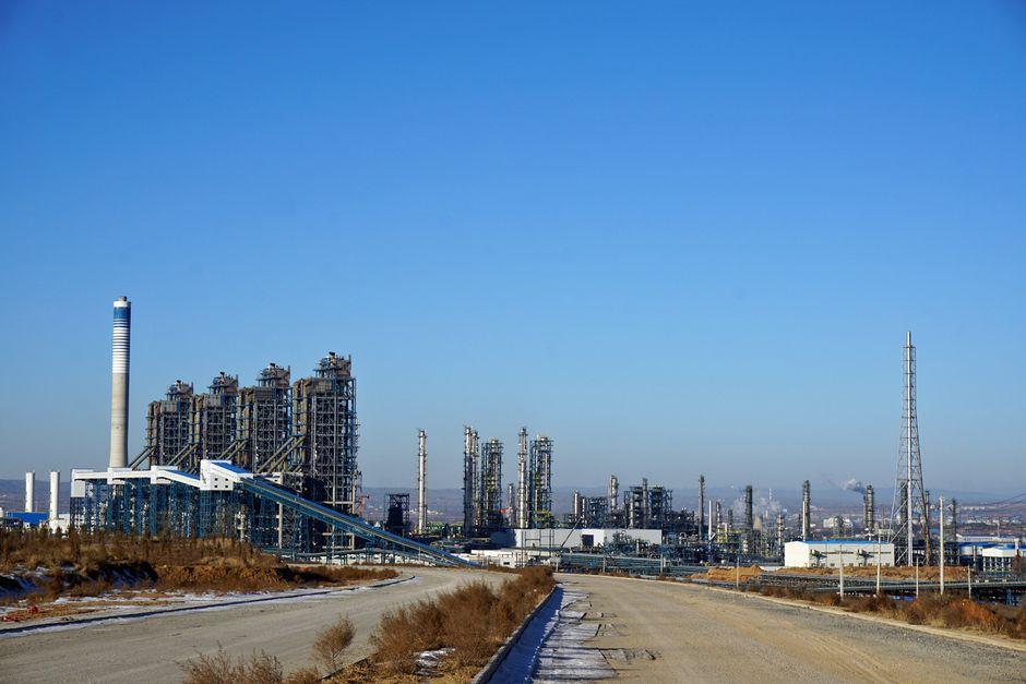 Changzhin teollisuusmaisemaa.