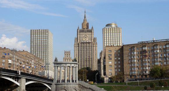 Venäjän ulkoministeriö matkan päästä