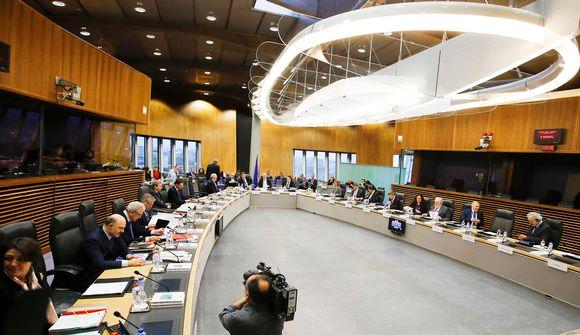 Euroopan komission kokouksessa Brysselissä keskusteltiin Puolan tilanteesta 13. tammikuuta.