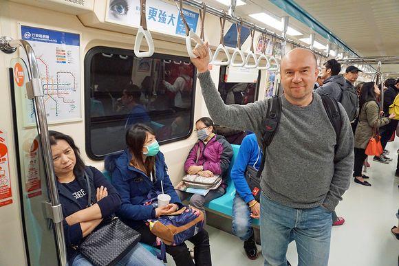 Teppo Turkki metrossa