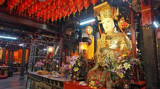 Shihlin Cixian temppeli Taipeissa.
