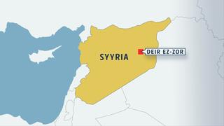 Kartta Syyriasta.
