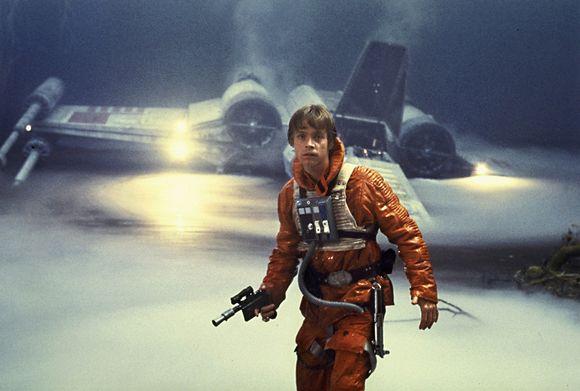 Kuva elokuvasta Tähtien sota: Imperiumin vastaisku.
