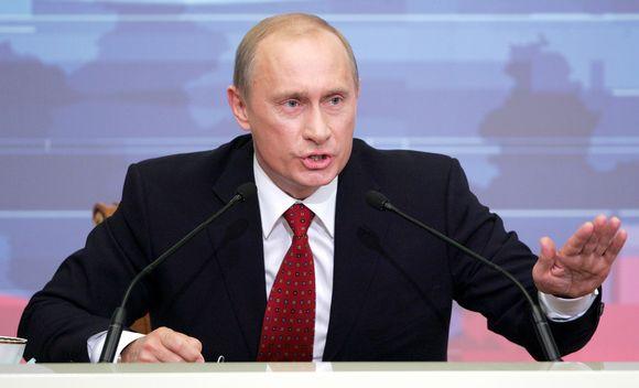 Vladimir Putin vuonna 2006.