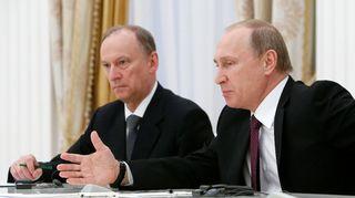 Nikolai Patrushev ja Vladimir Putin
