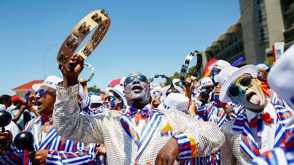 karnevaalia kapkaupungissa