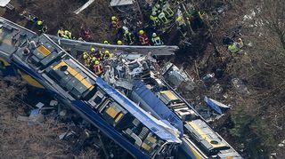 ilmakuva junaonnettomuudesta