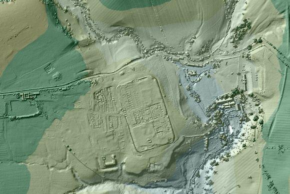 Satoja kilometrejä kadonneita roomalaisteitä löytyi laserkuvista