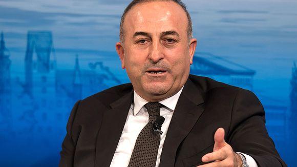Mevlut Cavusoglu, Turkin ulkoministeri.
