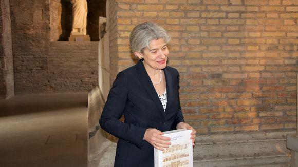 Unescon pääjohtaja Irina Bokova