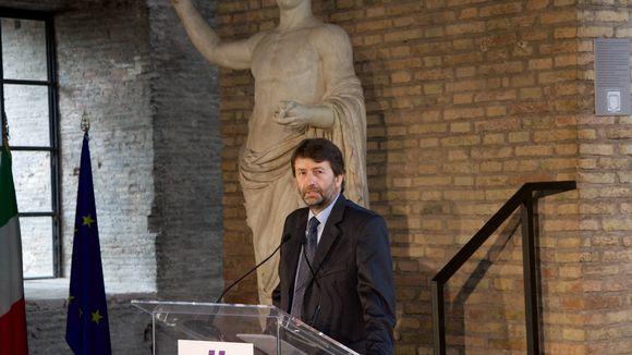 Italian kulttuuriministeri Dario Franceschini