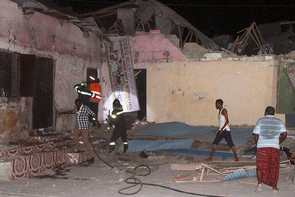 Hotelli Mogadishussa.
