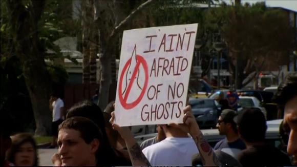 Video: Mielenosoitus KKK:ta vastaan,