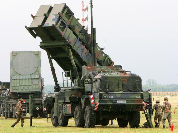 Patriot-ilmatorjuntaohjusjärjestelmä.
