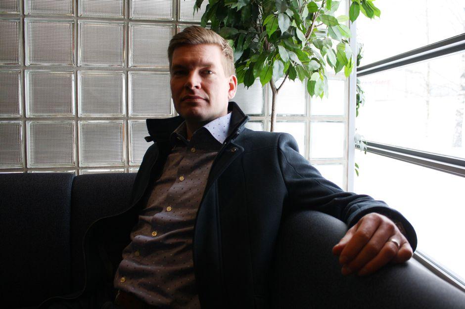 Liiketoimintajohtaja Henrik Tuulos, Oy Teboil Ab.