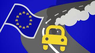 Näin autoteollisuus pyörittää Eurooppaa uusien päästötestien laadinnassa. Symbolikuva.