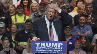 Video: Kuvassa Yhdysvalloissa republikaanien presidenttiehdokkaaksi pyrkivä Donald Trump.