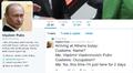 Twitter on jäädyttänyt muiden muassa Vladimir Putinia parodioivan tilin.
