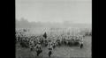 Video: Kuvassa sotilaita Sommen taistelujen alkaessa heinäkuussa 1916.