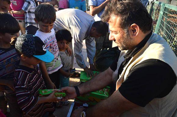 Rami Adham Idlibissä syyskuun lopussa 2016.