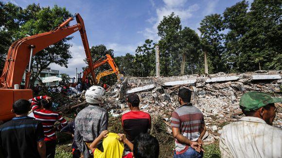 Indonesia maanjäristys 07.12.2016.