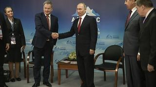 Niinistö Putin Arkangeli