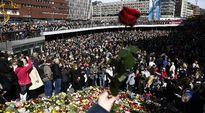Video: Mielenilmaus Sergelin torilla Tukholmassa sunnuntaina 9. huhtikuuta.