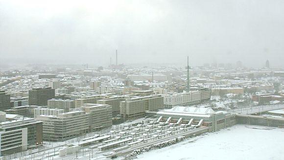 Luminen Itä-Pasila.