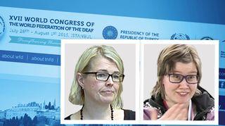 Kaisa Alanne ja Cecilia Hanhikoski