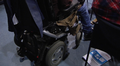 Video: Pyörätuoli lähikuvassa.