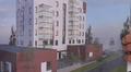 Havainnekuva Tampereelle rakennettavasta kuurosokeiden ja kuurojen asuintalosta.