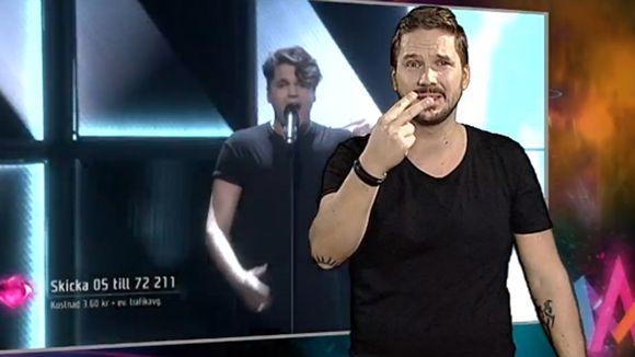 Tulkattu laulu Ruotsin Melodifestivalen-ohjelmasta, jossa valitaan maan oma viisuedustaja.