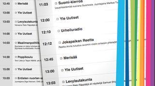 Radio Suomen soiva ohjelmakartta