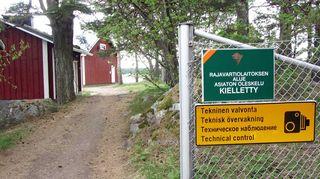 Haapasaaressa sijaitsee Suomen itäisin merivartioasema
