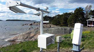 Nämä laitteet mittaavat merisään Haapasaaressa