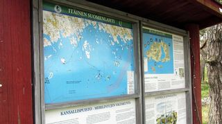 Haapasaari on kaukana Suomi-neidon hameenhelmasta
