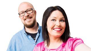 Matti Ylönen ja Maria Jyrkäs Suomen radiossa