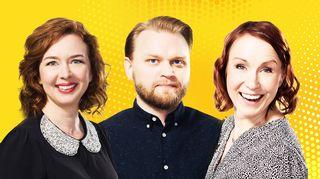 Heidi Laaksonen, Samppa Korhonen ja Tiina Lundberg.