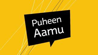 Puheen Aamun logo.