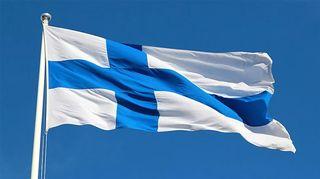 Kuvassa suomen lippu.