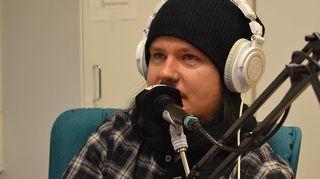 Happoradion laulaja Aki Tykki