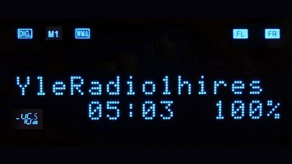 Yle Radio 1 huippulaatuinen radiolähetys