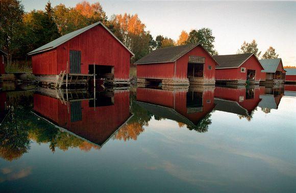 Venevajoja. Västeränga vik, Lemland, Ahvenanmaa