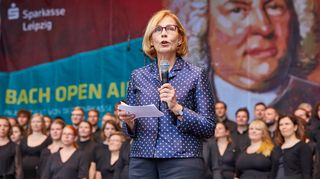 Leipzigin 2017 Bach-juhlien virallisena suojelina toimi Suomen Berliinin suurlähettiläs Ritva Koukku-Ronde.