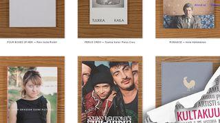 Kuvakaappaus nettisivulta http://www.photobooksfromfinland.fi/
