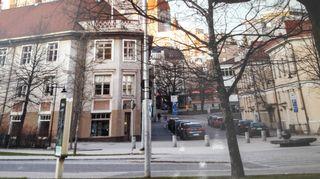 Katriina Järvinen asui lapsuusvuotensa tässä Tampereen Pellavatehtaankadulla sijaitsevassa talossa.